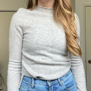 inCashmere   100% cashmere sweater long sleeve